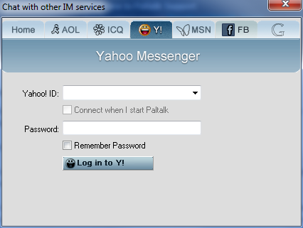 In sign yahoo chat Yahoo Messenger